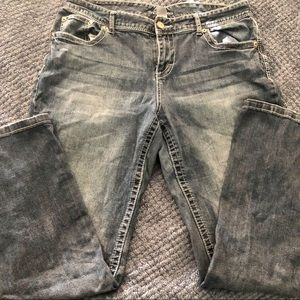 MAURICES boot cut jeans - size 18 long